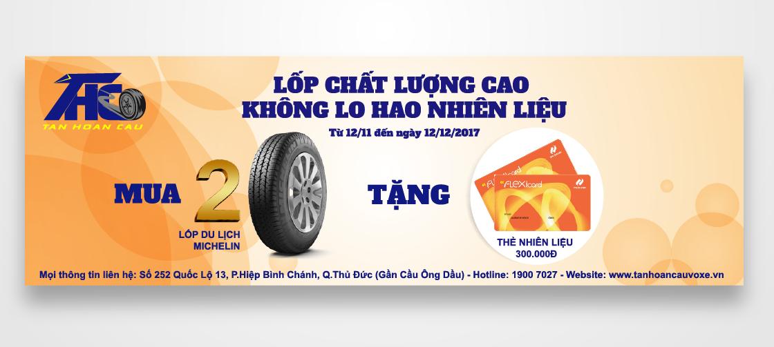LỐP CHẤT LƯỢNG CAO – KHÔNG LO HAO NHIÊN LIỆU (Mua Lốp Du Lịch Michelin Tặng 1 Thẻ Xăng)