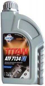Dầu trợ lực tay lái Fuchs Titan ATF 7134 FE 1L
