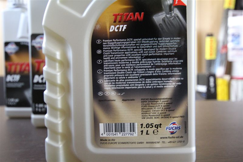 Thông tin bao bì Titan DTCF