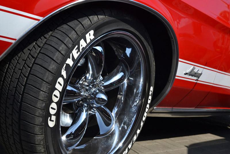 lốp xe ô tô goodyear của nước nào