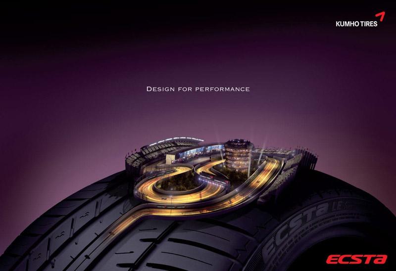 Thiết kế lốp xe ô tô kumho